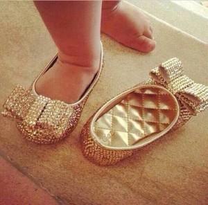 zapatos lazos