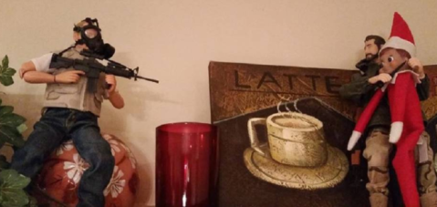 Elf on the Shelf taken hostage by ISIS by Justin King on DailyHaze