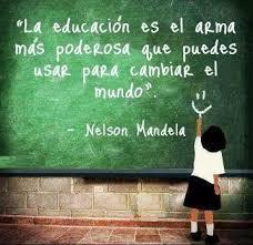 mandela educación